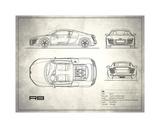 Audi R8 V10 White