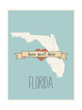 Florida State Map  Home Sweet Home