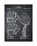Baseball Glove  1909-Chalk Boa