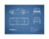 Triumph TR4-Blue