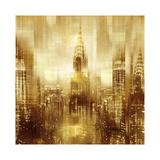NYC - Reflections in Gold I