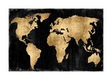 The World - Gold on Black