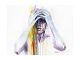 Wash Away Reproduction d'art par Agnes Cecile