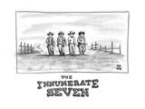 THE INNUMERATE SEVEN - New Yorker Cartoon