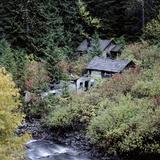 Derelict Houses in Manning Park  British Columbia  Canada