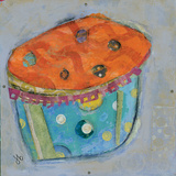 Cupcake I (Orange Icing)