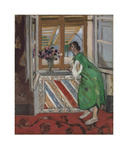 Jeune Fille a la Mauresque  Robe Verte