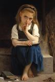 Un instant pour méditer Giclée par William Adolphe Bouguereau