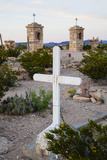 Cemetery in Old Terlingua  Texas