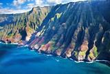 USA  Hawaii  Kauai  Aerial of the Coastline