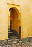 Morocco  Meknes Mausoleum of Moulay Ismail Stairs