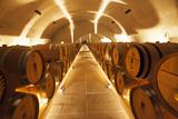 Portugal  Douro Valley  Barrel Room Interior