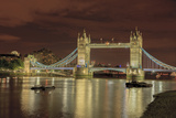 Tower Bridge at Night London England