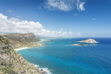 Hawaii  Oahu  North Shore from Makapu'U Point