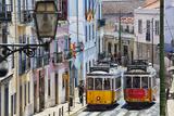 Portugal  Lisbon Famous Old Lisbon Cable Car