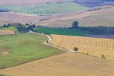 Italy  Tuscany  Pienza Tuscan Landscape