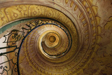 Staircase Between Church and Library Melk Abbey Melk Austria