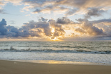 Hawaii, Kauai, Kealia Beach Sunrise Papier Photo par Rob Tilley