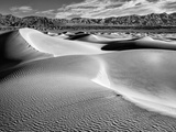 USA  California  Death Valley National Park  Morning Sun Hits Mesquite Flat Dunes
