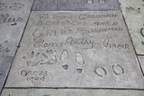 Hand and Foot Prints of Gene Autry  Hollywood Boulevard  Los Angeles
