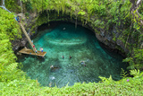 To Sue Ocean Trench in Upolu  Samoa  South Pacific