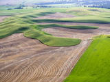 Washington  Palouse  Whitman County Aerial of Palouse Region