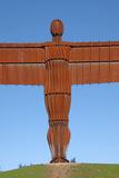 Angel of the North  Gateshead  Tyne and Wear  England  United Kingdom  Europe
