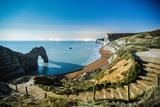 Durdle Door under the Stars  Jurassic Coast  Dorset  England  United Kingdom