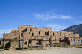 Taos Pueblo  Pueblo Dates to 1000 Ad  New Mexico  United States of America  North America
