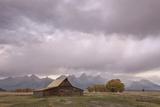 Ta Moulton Barn  Mormon Row  Grand Tetons National Park  Wyoming  United States of America