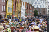 The Wooden Hanseatic Merchants Buildings of the Bryggen  Norway