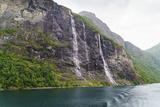 Seven Sisters Waterfall  Geirangerfjord  Norway