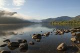 Lake Ullswater  Lake District National Park  Cumbria  England  United Kingdom  Europe