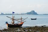 Fishing Boats  Prachuap Kiri Khan  Thailand  Southeast Asia  Asia