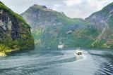 Gerainger Fjord  UNESCO World Heritage Site  Norway  Scandinavia  Europe