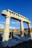 The Forum  Pompeii  the Ancient Roman Town Near Naples  Campania  Italy