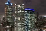 City at Night from Sofitel Melbourne on Collins Street  Melbourne  Victoria  Australia  Pacific