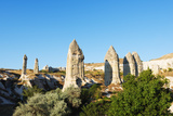 Landscape at Goreme  Goreme  Cappadocia  Anatolia  Turkey