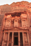The Treasury (Al-Khazneh)  Petra  UNESCO World Heritage Site  Jordan  Middle East