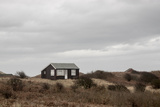 Beach Huts  Embleton Bay  Northumberland  England  United Kingdom  Europe