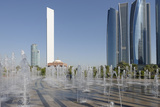Skyscraper Adnoc Headquarters  342 M  Abu Dhabi  United Arab Emirates  Middle East