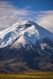 Cotopaxi Volcano Glacier Covered 5897M Summit  Cotopaxi National Park  Cotopaxi Province  Ecuador