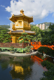Pagoda in Nan Lian Garden at Chi Lin Nunnery  Diamond Hill  Kowloon  Hong Kong  China  Asia
