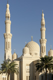 Jumeirah Mosque  Built in the Medieval Fatimid Tradition  Dubai  United Arab Emirates  Middle East
