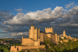 The Dramatic Fairy-Tail Towers of the Alcazar of Segovia  Castilla Y Leon  Spain  Europe