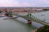 Szabadsag Hid (Liberty Bridge)  Budapest  Hungary  Europe