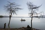 Lake Oloiden Near Lake Naivasha  Rift Valley  Kenya  East Africa