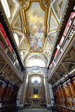 The Sacristy of San Domenico Maggiore Church Housing Coffins of Members of Royal Aragonese Family