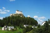 Scuol Tarasp (Tarasp Castle) (Schloss Tarasp)  Engadine  Graubunden  Switzerland  Europe