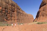 Tourists Hiking at Walpa Gorge  Australia